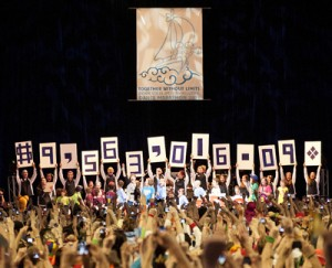 THON 2011 raised more than $9 million in 2011. Photo courtesy of Penn State Live.