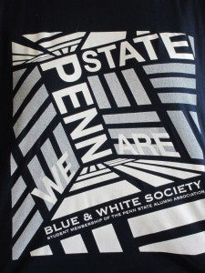 Blue & White Society Shirt