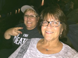 Michelle Wiley at a Paul McCartney concert.
